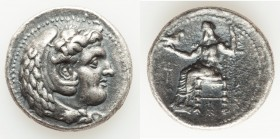 MACEDONIAN KINGDOM. Alexander III the Great (336-323 BC). AR tetradrachm (27mm, 16.78 gm, 5h). Choice VF. Lifetime issue of 'Babylon', ca. 325-323 BC....