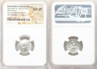 MACEDONIAN KINGDOM. Alexander III the Great (336-323 BC). AR drachm (17mm, 11h). NGC Choice VF. Early posthumous issue of 'Teos', 323-319 BC. Head of ...