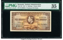 Bermuda Bermuda Government 5 Shillings 12.5.1937 Pick 8b PMG Choice Very Fine 35.   HID09801242017  © 2020 Heritage Auctions | All Rights Reserve
