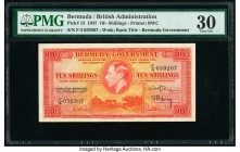 Bermuda Bermuda Government 10 Shillings 17.2.1947 Pick 15 PMG Very Fine 30.   HID09801242017  © 2020 Heritage Auctions | All Rights Reserve