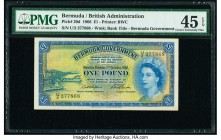 Bermuda Bermuda Government 1 Pounds 1.10.1966 Pick 20d PMG Choice Extremely Fine 45 EPQ.   HID09801242017  © 2020 Heritage Auctions | All Rights Reser...