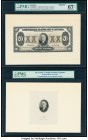 Canada Toronto, ON- Imperial Bank of Canada $20 1.11.1933 Ch.# 375-20-06aFP Proof; Archival Vignette PMG Superb Gem Unc 67 EPQ. Two Examples.  HID0980...
