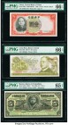 China Central Bank of China 1 Yuan 1936 Pick 212a S/M#C300-93 PMG Gem Uncirculated 66 EPQ; Costa Rica Banco Central de Costa Rica 50 Colones 12.6.1974...
