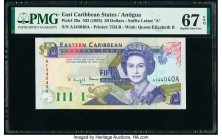 East Caribbean States Central Bank, Antigua 50 Dollars ND (1993) Pick 29a PMG Superb Gem Unc 67 EPQ.   HID09801242017  © 2020 Heritage Auctions | All ...