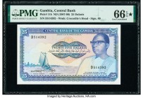 Gambia Central Bank of the Gambia 25 Dalasis ND (1987-90) Pick 11b PMG Gem Uncirculated 66 EPQ S.   HID09801242017  © 2020 Heritage Auctions | All Rig...