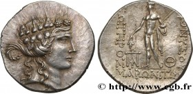 THRACE - MARONEIA Type : Tétradrachme  Date : c. 120 AC.  Mint name / Town : Thrace, Maronée  Metal : silver  Diameter : 32  mm Orientation dies : 1  ...