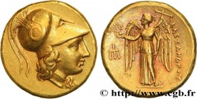 MACEDONIA - MACEDONIAN KINGDOM - ALEXANDER III THE GREAT Type : Statère d'or  Date : c. 333-327 AC  Mint name / Town : Cilicie, Tarse  Diameter : 18  ...