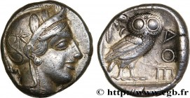 ATTICA - ATHENS Type : Tétradrachme  Date : c. 430 AC.  Mint name / Town : Athènes  Metal : silver  Diameter : 24  mm Orientation dies : 4  h. Weight ...