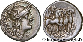 CAECILIA Type : Denier  Date : 130 AC.  Mint name / Town : Rome  Metal : silver  Millesimal fineness : 950  ‰ Diameter : 19  mm Orientation dies : 3  ...