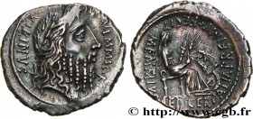 MEMMIA Type : Denier  Date : 56 AC.  Mint name / Town : Rome  Metal : silver  Millesimal fineness : 950  ‰ Diameter : 19  mm Orientation dies : 5  h. ...