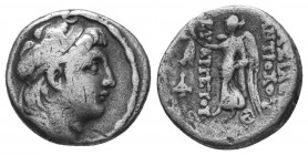 SELEUKID KINGS of SYRIA. Demetrios I Soter. 162-150 BC. AR Drachm  Condition: Very Fine  Weight: 4.00 gr Diameter: 17 mm