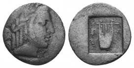 Lykian League, Masikytes AR Hemidrachm. 2nd - 1st century BC.  Condition: Very Fine  Weight: 1.60 gr Diameter: 14 mm