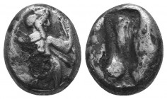 PERSIA, Achaemenid Empire. temp. Darios I to Xerxes I. Circa 505-480 BC. AR, siglos  Condition: Very Fine  Weight: 4.40 gr Diameter: 15 mm
