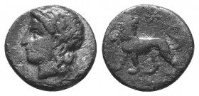 ASIA MINOR, Greek Obols. 5th - 3rd century BC. AR   Condition: Very Fine  Weight: 1.50 gr Diameter: 12 mm
