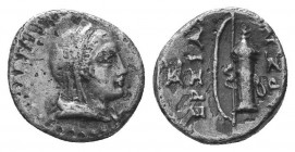 ASIA MINOR, Greek Obols. 5th - 3rd century BC. AR   Condition: Very Fine  Weight: 1.30 gr Diameter: 11 mm