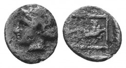 ASIA MINOR, Greek Obols. 5th - 3rd century BC. AR   Condition: Very Fine  Weight: 0.30 gr Diameter: 7 mm