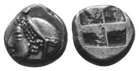 ASIA MINOR, Greek Obols. 5th - 3rd century BC. AR   Condition: Very Fine  Weight: 1.20 gr Diameter: 9 mm