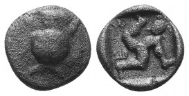 ASIA MINOR, Greek Obols. 5th - 3rd century BC. AR   Condition: Very Fine  Weight: 1.00 gr Diameter: 10 mm