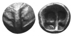 ASIA MINOR, Greek Obols. 5th - 3rd century BC. AR   Condition: Very Fine  Weight: 0.50 gr Diameter: 7 mm