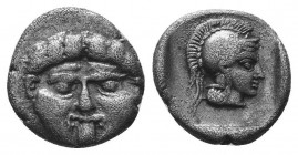 ASIA MINOR, Greek Obols. 5th - 3rd century BC. AR   Condition: Very Fine  Weight: 1.00 gr Diameter: 11 mm