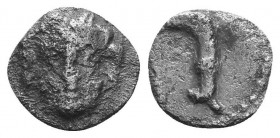 ASIA MINOR, Greek Obols. 5th - 3rd century BC. AR   Condition: Very Fine  Weight: 0.50 gr Diameter: 9 mm