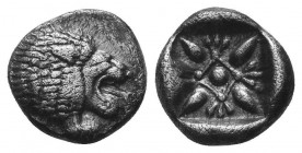 ASIA MINOR, Greek Obols. 5th - 3rd century BC. AR   Condition: Very Fine  Weight: 1.40 gr Diameter: 10 mm