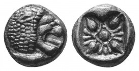 ASIA MINOR, Greek Obols. 5th - 3rd century BC. AR   Condition: Very Fine  Weight: 1.00 gr Diameter: 9 mm