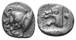 ASIA MINOR, Greek Obols. 5th - 3rd century BC. AR   Condition: Very Fine  Weight: 1.20 gr Diameter: 11 mm