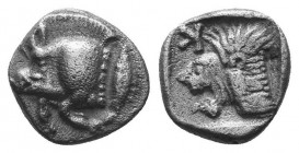 ASIA MINOR, Greek Obols. 5th - 3rd century BC. AR   Condition: Very Fine  Weight: 11.00 gr Diameter: 9 mm
