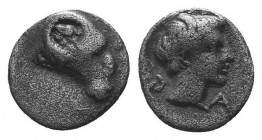 ASIA MINOR, Greek Obols. 5th - 3rd century BC. AR   Condition: Very Fine  Weight: 0.40 gr Diameter: 7 mm
