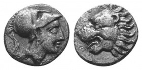 ASIA MINOR, Greek Obols. 5th - 3rd century BC. AR   Condition: Very Fine  Weight: 0.70 gr Diameter: 9 mm