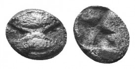 ASIA MINOR, Greek Obols. 5th - 3rd century BC. AR   Condition: Very Fine  Weight: 0.20 gr Diameter: 5 mm