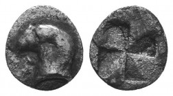 ASIA MINOR, Greek Obols. 5th - 3rd century BC. AR   Condition: Very Fine  Weight: 0.40 gr Diameter: 8 mm