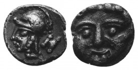 ASIA MINOR, Greek Obols. 5th - 3rd century BC. AR   Condition: Very Fine  Weight: 0.90 gr Diameter: 9 mm