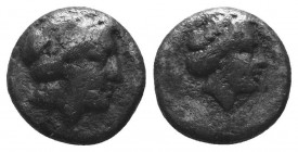 ASIA MINOR, Greek Obols. 5th - 3rd century BC. AR   Condition: Very Fine  Weight: 1.20 gr Diameter: 10 mm