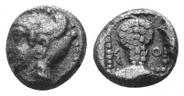 ASIA MINOR, Greek Obols. 5th - 3rd century BC. AR   Condition: Very Fine  Weight: 0.70 gr Diameter: 8 mm