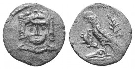 ASIA MINOR, Greek Obols. 5th - 3rd century BC. AR   Condition: Very Fine  Weight: 0.50 gr Diameter: 11 mm