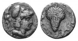 ASIA MINOR, Greek Obols. 5th - 3rd century BC. AR   Condition: Very Fine  Weight: 0.60 gr Diameter: 9 mm