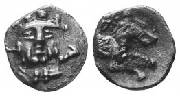 ASIA MINOR, Greek Obols. 5th - 3rd century BC. AR   Condition: Very Fine  Weight: 0.60 gr Diameter: 10 mm