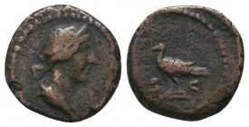 Anonimous issues, late 1st – mid-2nd century Quadrans, Æ  Condition: Very Fine  Weight: 2.60 gr Diameter: 15 mm