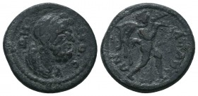 LYDIA. Pseudo-autonomous. Ae (2nd century AD).  Condition: Very Fine  Weight: 4.40 gr Diameter: 19 mm