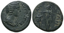 PAMPHYLIA. Side. Julia Domna (Augusta, 193-217). Ae.   Condition: Very Fine  Weight: 9.70 gr Diameter: 23 mm