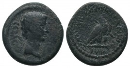 Lydia. Tripolis. Augustus 27-14 BC.  Condition: Very Fine  Weight: 6.20 gr Diameter: 20 mm