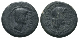 Tiberius, 14-37, Laodikeia (Phrygia), Magistrat Pythes Pythou  Condition: Very Fine  Weight: 5.30 gr Diameter: 18 mm
