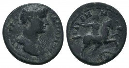PHRYGIA. Hadrian (117-138). Ae.  Condition: Very Fine  Weight: 3.90 gr Diameter: 18 mm