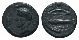 PAMPHYLIA. Side. Antoninus Pius (138-161). Ae.  Condition: Very Fine  Weight: 1.90 gr Diameter: 13 mm