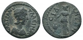 PAMPHYLIA. Side. Tranquillina (Augusta, 241-244). Ae.  Condition: Very Fine  Weight: 3.90 gr Diameter: 16 mm