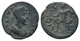 Sillyon in Pamphylia. Julia Paula 219-220 AE.