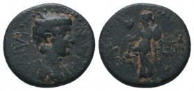 PAMPHYLIA. Side. Caracalla. 198 - 217 AD. Ae  Condition: Very Fine  Weight: 5.70 gr Diameter: 20 mm