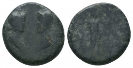 LYDIA. Unidentified . Ae.  Condition: Very Fine  Weight: 4.30 gr Diameter: 19 mm